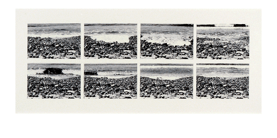 LAYERS OF MOMENTUM 1982 silver prints 27X65 inches