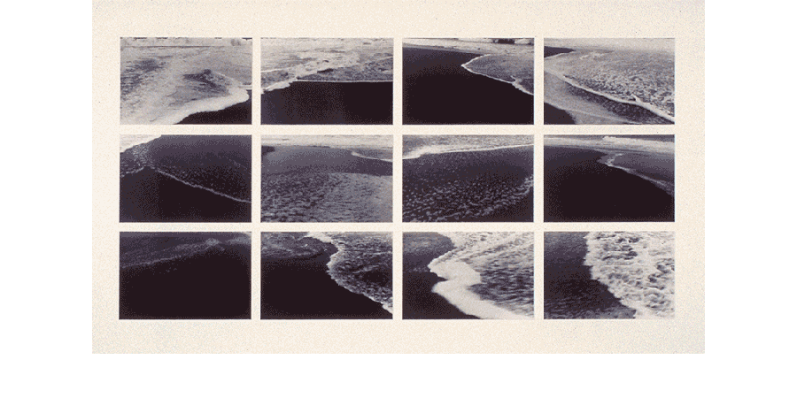 BENEATH MEMORY 1983 silver prints 37X65 inches