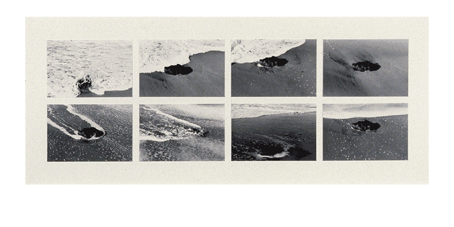 FRAGMENTS OF MEMORY 1983 silver prints 27X65 inches