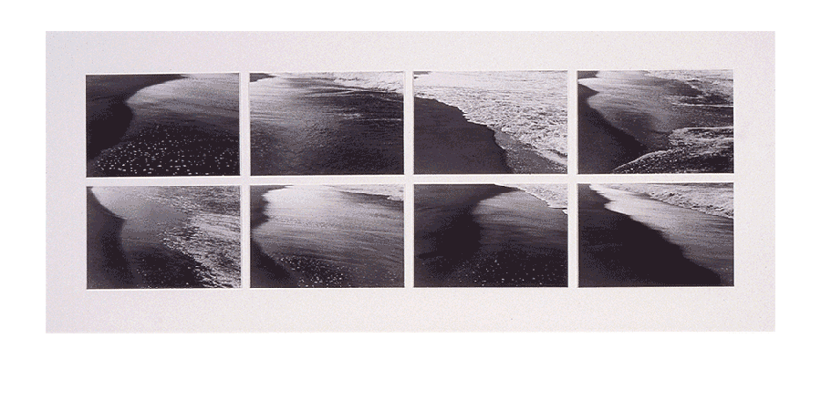 EDGES OF CONSCIOUSNESS 1985 silver prints 27X65 inches