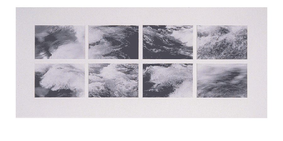 RIVER FLIGHT 1983 silver prints 22X49 inches